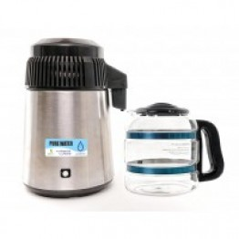 Pure Water Maker (Distiller With Glass Bottle 4 Litres)